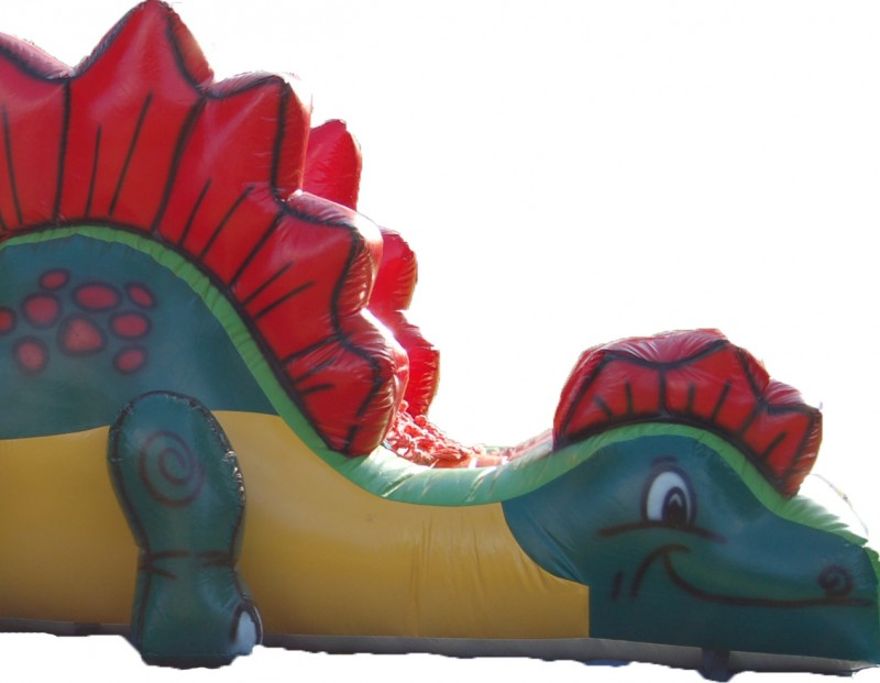 Dmuchana zjeżdżalnia Dino