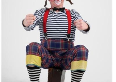Śmieszny klaun