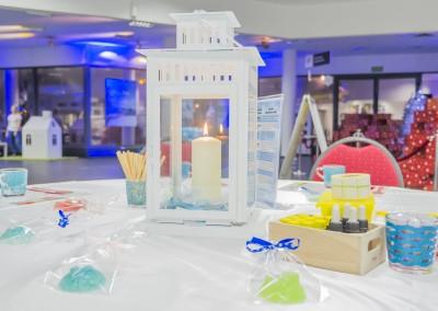 Warsztaty mydełkowe - świecznik