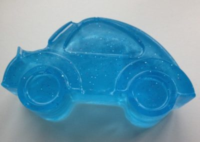 Mydełko glicerynowe - samochodzik