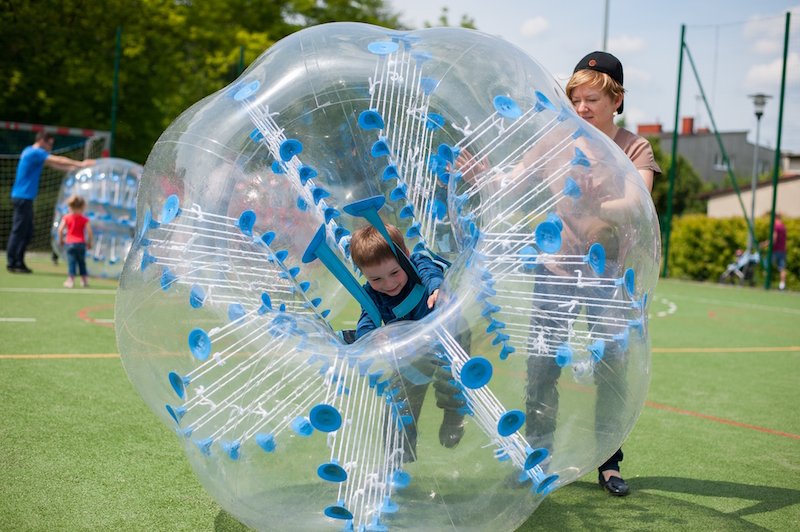 Bumper ball, Bubble Football, Crash Ball