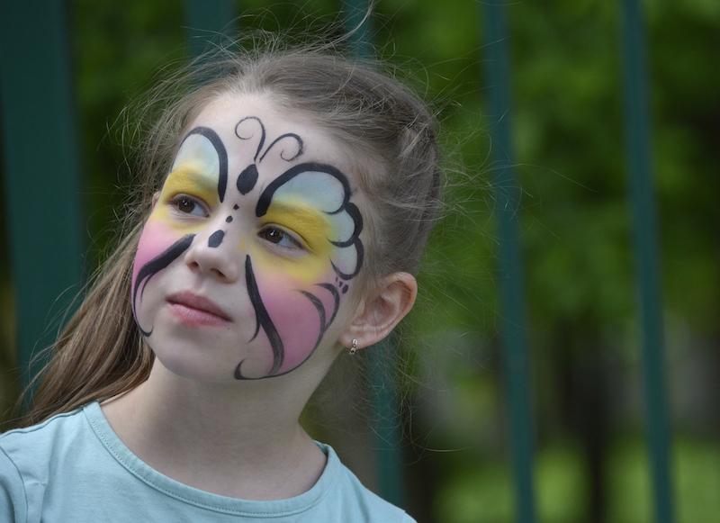 Malowane Twarzy Kolorowa Buzia Dziecka Imprezydziecicom