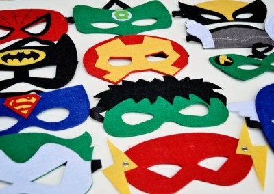 Maski superbohaterów
